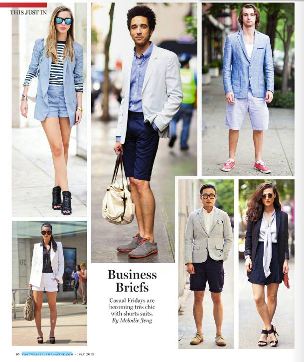 Do The Hotpants Dana Suchow Business Streetstyle Press