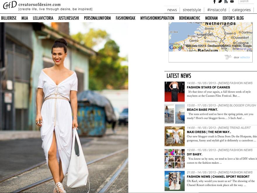 Do The Hotpants Dana Suchow Press Maxi Dress
