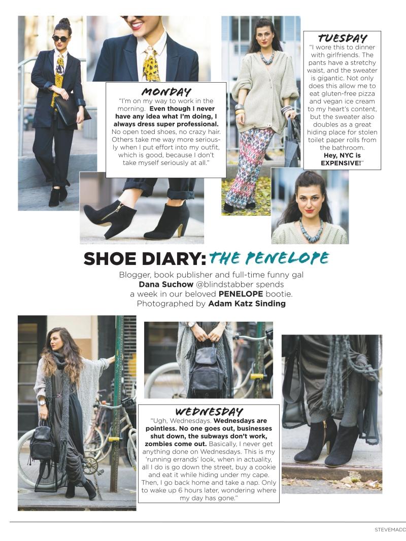 Do The Hotpants Dana Suchow Press Steve Madden Mag