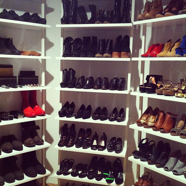 ladies shoe rack plans