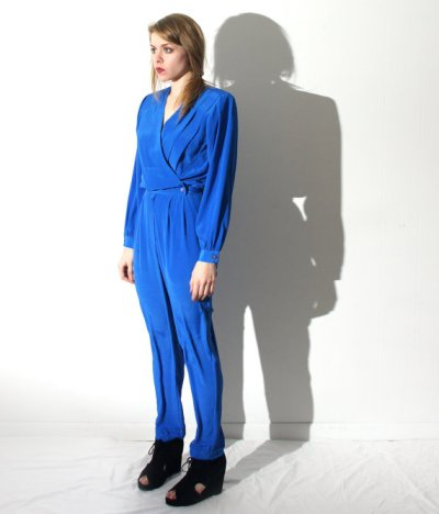 Blind-Stab-Etsy-Vintage-Electric-Blue-Jumpsuit