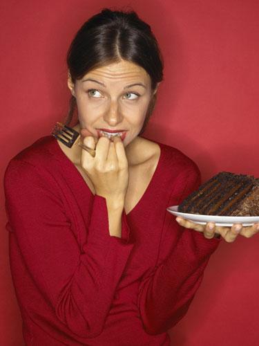 Woman-Diet-Portion-Control-Choices