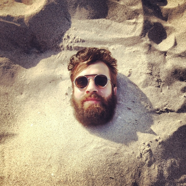 Blind Stab Adam Katz Sinding Buried Sand Beard Instagram
