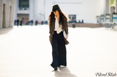 Fedora-Blazer-Wide-Leg-Pants-Wrist-Tattoo