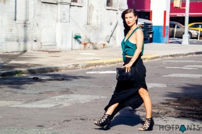 MAC Lady Danger Lipstick Black Lace Up Wedge Heels