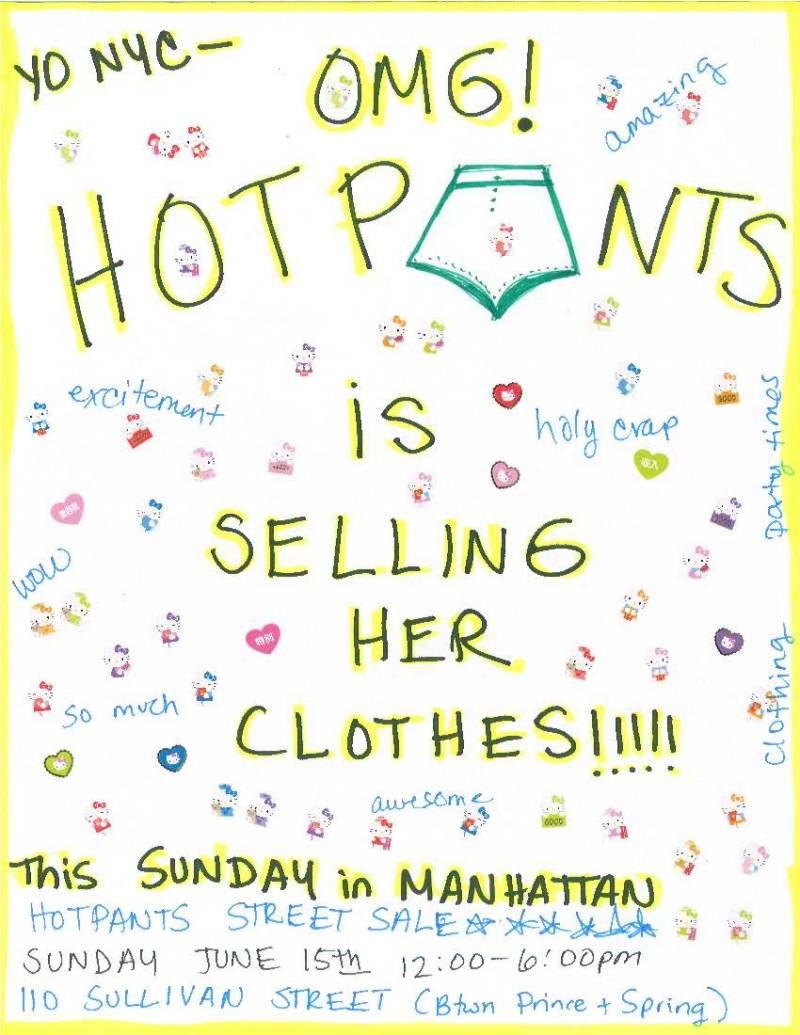 Do The Hotpants Dana Suchow Clothing Street Style Blogger Sale
