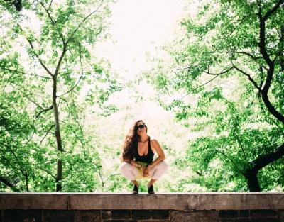 NYC New York City Girl Model Woman Photoshoot Woods Nature