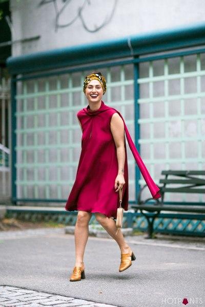 Headband Scarf Wrap Curvy Healthy Girl Woman Body NYC Summer Fashion