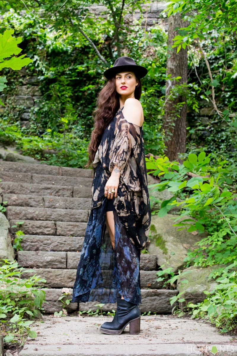New York City Manhattan The Cloisters Forest Nature Model Streetstyle Outdoors