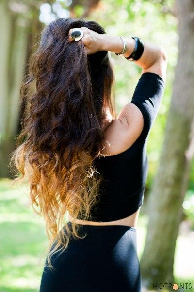 Dipdye Dye Brown Blonde Long Wavy Hair San Jose California